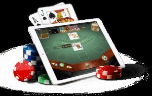 iPad blackjack